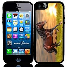 Sunset Running Horse For Iphone 6 Case Cover