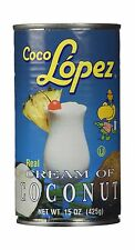 Coco Lopez Cream Coconut 15-Ounce Cans (Pack of 6) Free Shipping