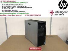 HP Z820 Workstation  2x E5-2667V2 2.20GHz  256GB 1TB HDD  256GB SSD Quadro K5000