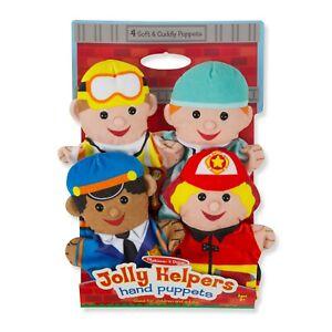 Melissa & Doug ~ Jolly Helpers Hand Puppets 2+
