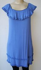 Tart Collections SLEEVELESS POLKA DOT Dress New SMALL BLUE MADE IN USA