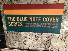 Fareed Haque Jazz Promo Poster 12X24 Blue Note Cover Series Mint Harp Quartet