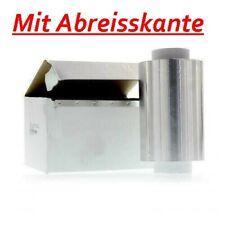 Alufolie Strähnenfolie Friseur Qualität Professional 15 my SILBER 12 cm x 250 m