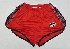 Pantaloncino Legea cotton sprinter Shiny Shorts glanz pants 196 vintage 70' XL