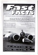 Land Speed Record: Thrust SSC, Speed Record Club Magazine Fast Facts, Feb 1997