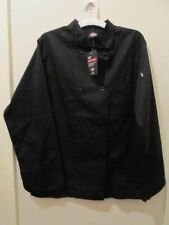 Dickies black Chef coat long sleeve 8 button classic Dc 118 Unisex Xs