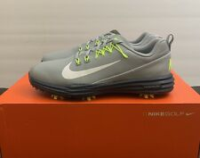 New Nike Men's Lunar Command 2 Golf Shoes Wolf Grey 849968-005 Size 8