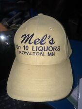 trucker hat baseball cap MEL'S LIQUORS ROYALTON MN  cool lid old school