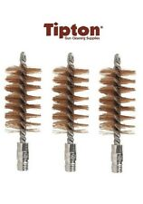 Tipton Bore Brush 410 Bore 5/16 x 27 Thread Bronze 3 Pack # 286637 New!