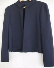 GENNY Italian High End Women's Jacket-Blazer Navy NWT  $475  Sz IT 44~US 10