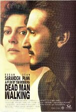 DEAD MAN WALKING ~ 24x36 MOVIE POSTER Sean Penn Susan Sarandon NEW/ROLLED!