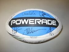 Melbourne Storm 2012 NRL Premiership team signed NRL Rugby Ball + COA