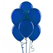 "144 Latex Balloons 12"" with Clips and Curling Ribbon - Royal Blue"