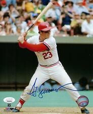 CARDINALS Ted Simmons signed 8x10 photo JSA COA AUTO Autographed St. Louis HOFer