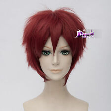 Red Short Hair for Child's Play Chucky Cosplay Wig Halloween Full Wigs + Wig Cap