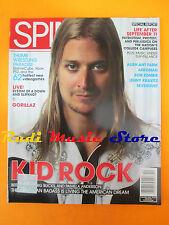 rivista SPIN Dicembre 2001 Kid Rock Joseph Foreman Gorillaz Queens Of Noise Nocd