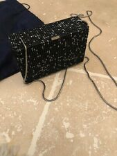 Genuine Black Kiosque Swarovski Bag