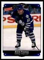 1999-00 Upper Deck Victory Steve Thomas Toronto Maple Leafs #287