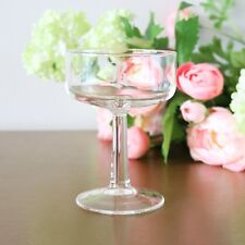 Vintage Monogram R Champagne Coupe Glasses, Set Of 4