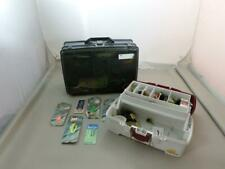 Lot Of Two (2) Tackle Boxes Full Of Fishing Lures, Misc