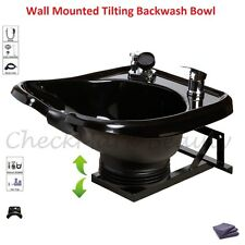 Shampoo Bowl Sink with a Tilt Mechanism Salon Spa Equipment TLC-B13-WT