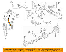 Infiniti NISSAN OEM 03-08 FX35 Power Steering-Suction Hose 49717CG010