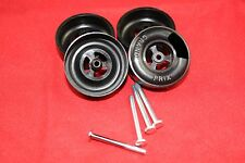 Pinewood Derby AWANA® Speed Wheel and Axle Set (100K Axles 1.5g wheels)