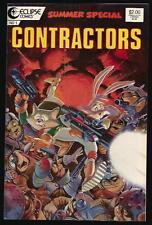 CONTRACTORS US ECLIPSE COMICS VOL.1 # 1/'87