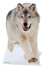 Wolf Lifesize Cardboard Cutout Fun Figure 92cm Tall - Great for Parties
