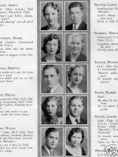 1932 Minneapolis Central School Yearbook~Photos~History~Lakers John Kundla~++++