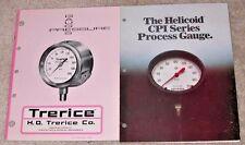 TRERICE & HELICOID GAUGES 2 CATALOGS 1964