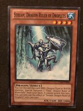 Stream, Dragon Ruler Of Droplets Yugioh Card Genuine Yu-Gi-Oh Trading Card