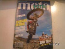 ** Moto Verte n°179 Les 240 Trial / Les bécanes du Dakar : Honda et Yam usine