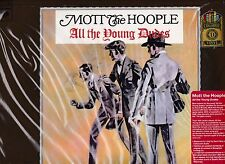 """MOTT THE HOOPLE """"ALL THE YOUNG DUDES"""" 150 GRAM RED VINYL REISSUE DAVID BOWIE"""
