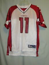 Reebok NFL Players Arizona Cardinals Larry Fitzgerald #11 Jersey Youth Large EX+