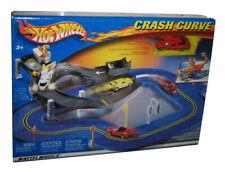 Hot Wheels Crash Curve (2002) Mattel Toy Car Race Track Playset