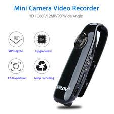 1080P Full HD Mini 90° Camera Dash Cam Police Body Bike Camcorder Motion Detect