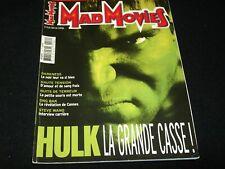 MAD MOVIES Magazine° JUNE 2003 No.154<>FRANCE (FRENCH) MAG<> HULK