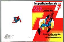 LES PETITS JUNIORS DE TELE 7 JOURS 3 ¤ SPIDER-MAN ¤ AVEC 20 STICKER AUTOCOLLANT