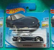 Hot Wheels 2021 Super Treasure Hunt '95 Mazda RX-7 - Short Cards