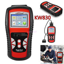 KW830 Professional Diagnostic Scan Tool CAN OBDII OBD2 Fault Code Scanner AL519