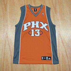 100% Authentic Steve Nash Adidas Phoenix Suns Jersey Size 44 L XL Mens