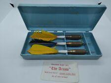 Vintage Kwiz Darts Dart set THE ARROW.