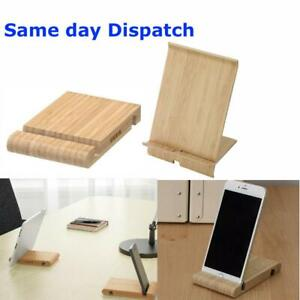 IKEA Universal Wooden Mobile Phone/Tablet Desk Stand Holder - Samsung & iPhone