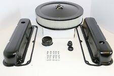 Sb Chrysler Black Engine Dress Up Kit Valve Covers Air Cleaner Mopar 273 318 340