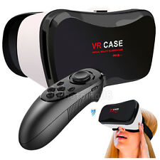 Xmas Gift VR Case Box 3D Glasses Video Headset+Control For iPhone 6 Plus 6S Plus