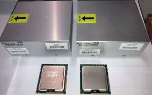 2x Intel Xeon X5690 paire de CPU matched pair + radiateurs heatsinks
