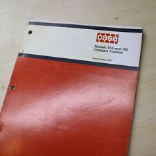 Case Compact Model 155 195 Farm Tractor Parts Manual Book Catalog Spare List