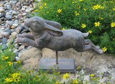 BUNNY Rabbit Sculpture*Weathervane Style*Primitive FrenchCountry Farmhouse Decor
