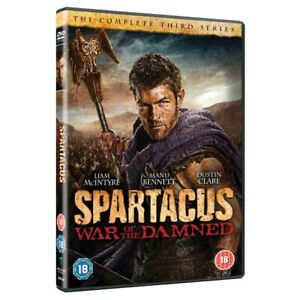 Spartacus War of the Damned Series 3 DVD